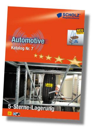 Scholz Regale automotive katalog nr 7 scholz regalsysteme erschienen