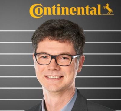 Thierry Wipff, Leiter Produktionsmanagement Nutzfahrzeugreifen bei Continental