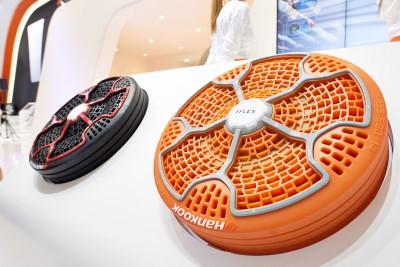 Reifen der Zukunft - am Hankook-Stand auf der Essen Motor Show bereits heute zu sehen