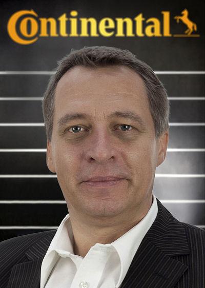 Thomas Neddenriep ist Leiter Globale Evaluation von Reifeneigenschaften bei Continental