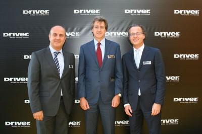 Pirelli investiert derzeit intensiv in das deutsche Retail-Geschäft – im Interview mit der NEUE REIFENZEITUNG erläutern Daniele Deambrogio, Andrea Pirondini und Michael Schwöbel (von links) die dahinterstehende Strategie