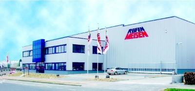 Am Standort in Solingen entstand vor gut elf Jahren das neue Büro- und Lagergebäude