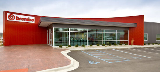 Brembo fertigt in Homer (Michigan/USA) Bremsen, Bremsscheiben, Bremssättel sowie Corner-Module