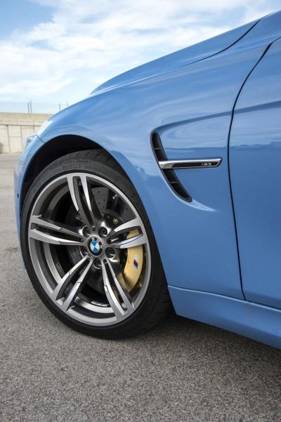 Vier Reifengrößen des Pilot Super Sport für M3 und M4