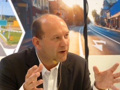 Michael Codron, stellvertretender Geschäftsführer der Commercial Business Unit bei Bridgestone Europe