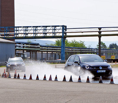 Durchgeführt wurden die GTÜ-Messungen offensichtlich auf dem Prüfgelände Wittlich des Goodyear-Dunlop-Konzerns