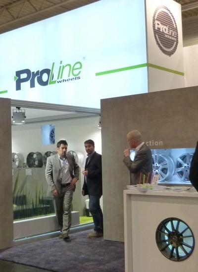 ProLine Wheels zeigt sich engagiert