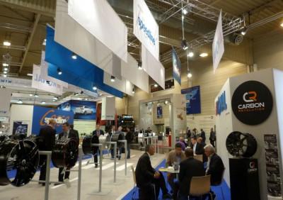 """Die Ronal-Gruppe, aktuell weltweit der zweitgrößte Aluminiumräderhersteller, war erstmals mit einem """"4-Marken-Stand"""" in Essen"""