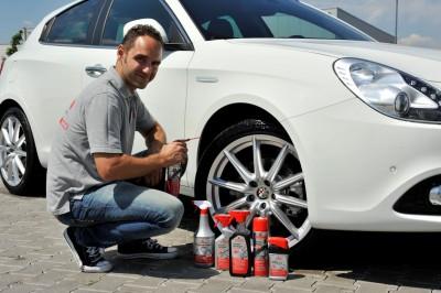 Schönes Auto, schöne Räder: Da sollte man schon gewissenhaft reinigen