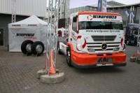 Der Lenz-Windpower-Truck macht auch auf der IAA eine gute Figur