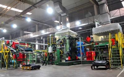 """Modernstes Equipment in der """"Western Plant"""""""