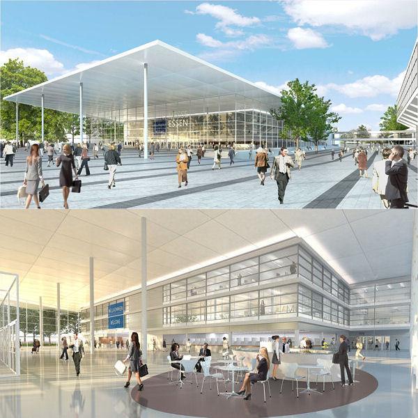 ... und unter anderem ein Glasfoyer mit rund 2.000 Quadratmetern Fläche ebenso erhalten wie zusätzliche Räumlichkeiten für Tagungen/Kongresse (Bild: Image Archilooks)