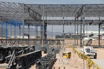 Die Inbetriebnahme des Werkes San Luis Potosí ist fürs erste Quartal 2016 ins Auge gefasst