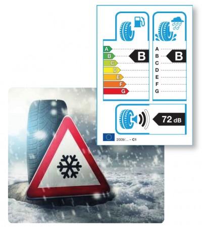 Bei Winterwetter hilft das Label nicht wirklich