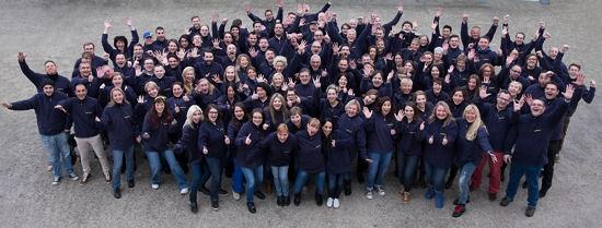 Mehr als 130 Mitarbeiter des Bereichs Supply Chain von unterschiedlichen Goodyear-Dunlop-Standorten in Deutschland, Österreich und der Schweiz waren zu dem Team-Building-Event nach Hanau gekommen