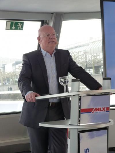MLX-Geschäftsführer Heinz-Werner Knörnschild eröffnete die diesjährige MLX-Tagung