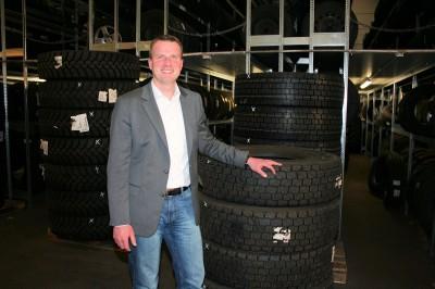 """""""Pneunet wird 2015 wachsen, das ist sicher"""", sagt Sascha Kemper, Leiter Einkauf/Vertrieb und Marketing bei Reifen Helm in Hamburg, einem der Gründungsmitglieder"""