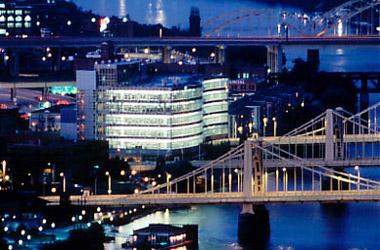 In der Alcoa-Zentrale von Pittsburgh residiert mit Klaus Kleinfeld ein deutscher Manager als CEO
