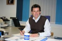 """Mit der Entscheidung, Produktion und Verwaltung in Schraden zu schließen, reagiert Geschäftsführer Detlev Biermann auf den schwachen Markt und den stark steigenden Wettbewerb durch sogenannte """"Billigreifen aus Fernost"""""""