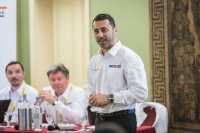 Angelo Giannangeli, bei Giti Tire Marketing Director Europe mit Verantwortung für das Pkw-Reifengeschäft, unterstrich und erklärte die Bedeutung, die nun auch der Unternehmensmarke beigemessen werden soll