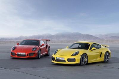 Zur Präsentation des 911 GT3 RS stellt Michelin die Reifen