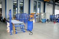 Das Reifenhandling per Fördertechnik ist für SDS Systemtechnik ein großer Wachstumsmarkt