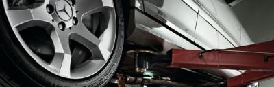 Mercedes will, dass das Auto auf die Hebebühnen der eigenen Werkstattpartner kommt