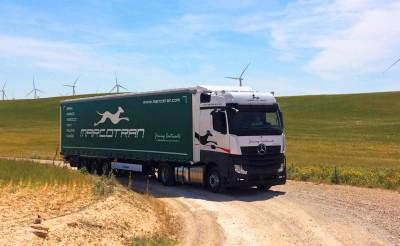 Der Auftrag von Marcotran umfasst die 700 Lkw und 1.200 Anhänger starke Flotte des Unternehmens
