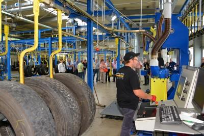 150 geladene Gäste konnten kürzlich die neue Reiff-Runderneuerung in Reutlingen-Betzingen besichtigen