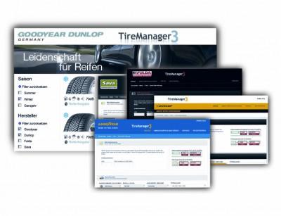 Den TireManager gibt es in markenexklusiven Kundenversionen sowie in einer markenübergreifenden Version