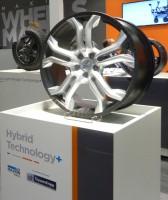 Ein sehr weit fortgeschrittenes Projekt: Leichtbaurad aus Carbon und geschmiedetem Aluminium