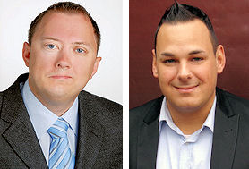 Gründer und Geschäftsführer der NB-Performance GmbH sind die branchenerfahrenen Heiko Weibel (links) und Norman Bartnick
