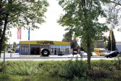 Am Standort in Korbach, nicht weit vom Continental-Neureifenwerk entfernt, produziert Reifen Apel jährlich rund 15.000 Kaltrunderneuerte