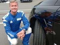 Ein immer gut gelaunter Markenbotschafter: David Coulthard