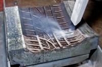 Reifenform während der Reinigung