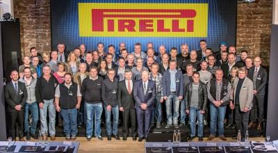 Reifenhändler, die von Pirelli im Rahmen eines Handelskonzeptes unterstützt werden