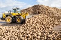 25 Tonnen schieben die BKT-bereiften Radlader vor sich her