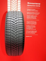 Bridgestone hat in Genf einen neuen SUV-Winterreifen eingeführt: den neuen Firestone Destination Winter