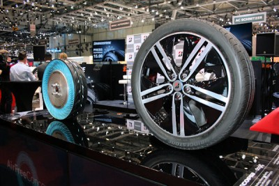 Der Genfer Automobilsalon ist traditionell die Messe, auf der die großen Reifenhersteller ihre Konzepte für die Mobilität der Zukunft zeigen