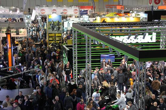 """Insgesamt sollen an den vier Messetagen Anfang März rund 100.000 Besucher die """"Motorräder 2016"""" in Dortmund besucht haben"""