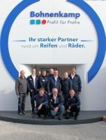 Das Bauma-EM-Reifen-Team von Bohnenkamp zieht eine positive Messebilanz