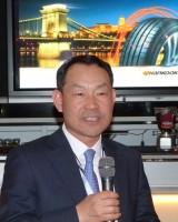 Ho-Youl Pae, Präsident von Hankook Tire Europe, begrüßt die Gäste in Budapest