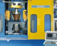 Drückmaschine zur Fertigung von Lkw-Felgen