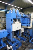 Rotationsschmiedepresse für zur Produktion von Alufelgenrohlingen