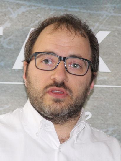 """Das Laufleistungsplus des """"Roadtec 01"""" im Vergleich zum """"Roadtec Z8 Interact"""" beziffert Lucio Vesentini, Global Brand Manager Metzeler, mit zehn Prozent"""