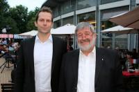 Erich Bänecke von RTC Bänex Reifen & Autoservice ist neuer Beiratsvorsitzender der RTC Reifen-Team, während Dirk Burmeister (links) die Geschäfte der Zentrale mit einer kleinen schlagkräftigen Mannschaft führt