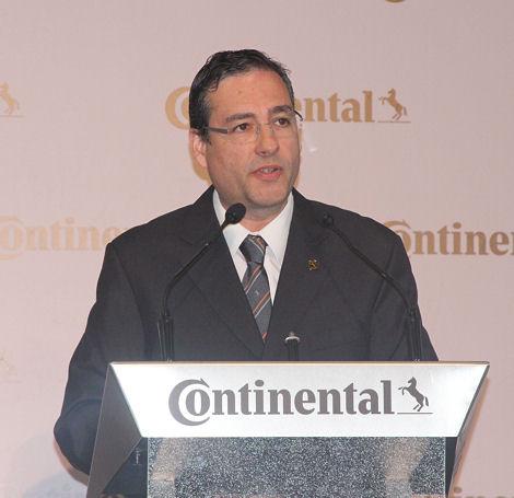 """""""Viele Kollegen haben davon geträumt"""", freut sich Werksleiter Pedro Carreira über das Millioneninvestment in Lousado, das Teil der Conti-Strategie """"Vision 2025"""" ist"""