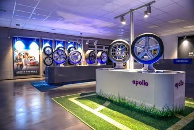 Das Reifenhaus Caspar Wrede hat seine Filiale am Stammsitz in Münster jetzt in einen modernen Apollo-Vredestein-Flagship-Store verwandelt