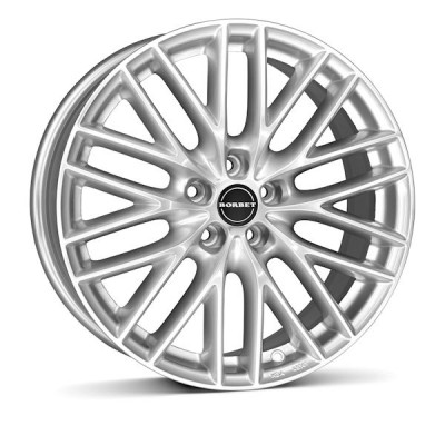 "Das Borbet BS5 in ""brilliant silver"""