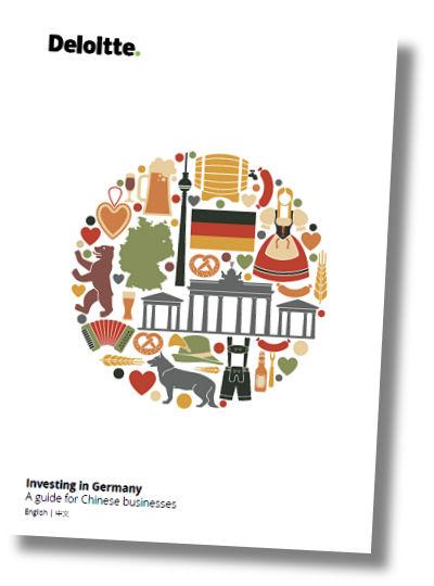 """In der Deloitte-Publikation mit dem Titel """"Investing in Germany – A guide for Chinese businesses"""" heißt es, dass sich Investoren aus dem Reich der Mitte seit 2010 immer häufiger nach """"Investitionsobjekten"""" hierzulande umschauen"""